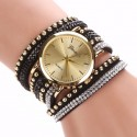 Crystal Watch Rivet Bracelet - FREE Shipping!