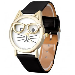 Cat Glasses Watch