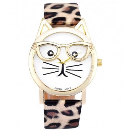 Cat Glasses Watch