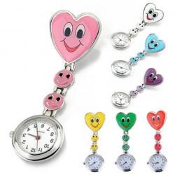 Clip crystal watch nurse