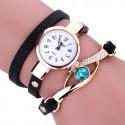 Duoya Brand Luxury Watches Quartz Women Gold Bracelet.