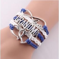 Grandma Heart Bracelet