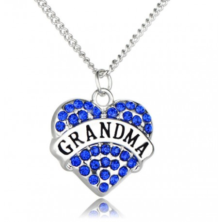 Grandma Silver Necklace